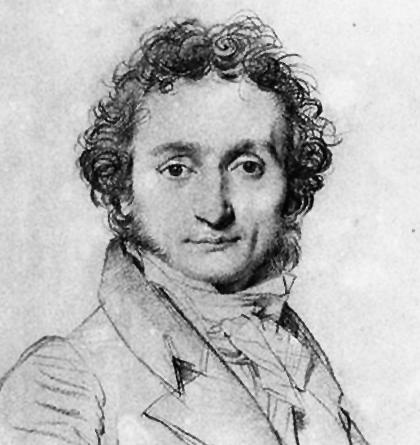 El célebre virtuoso del violín Niccolò Paganini, quien deslumbró a Chopin en 1829