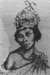 Nzinga Mbande, queen of the Bantu Ndongo and Matamba kingdoms