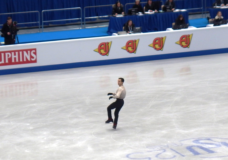 Nicole Rajicova of Czech Republic competes in the Ladies