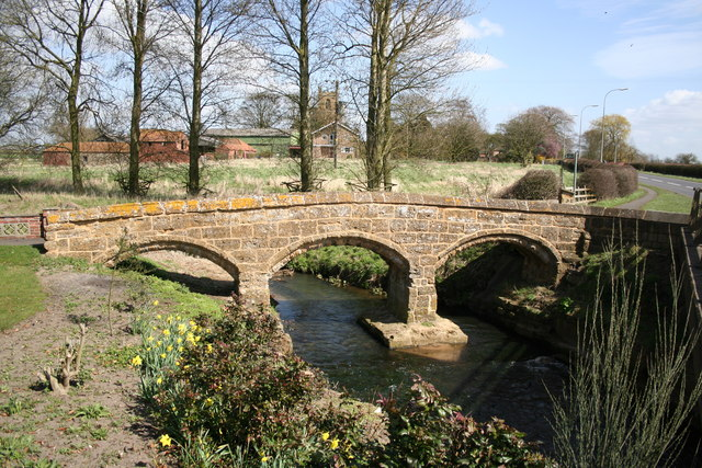 Three Arch Packhorse bridge