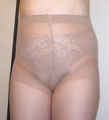 Panty girdle over pantyhose