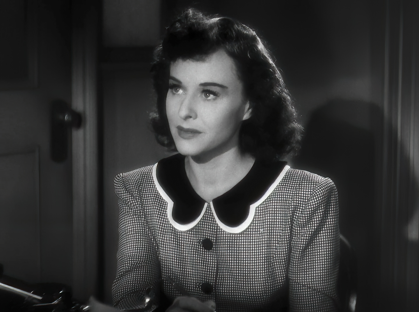 Cropped screenshot of Paulette Goddard from th...