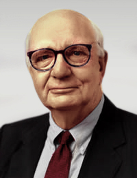 English: Paul Volcker, former head of the Fede...