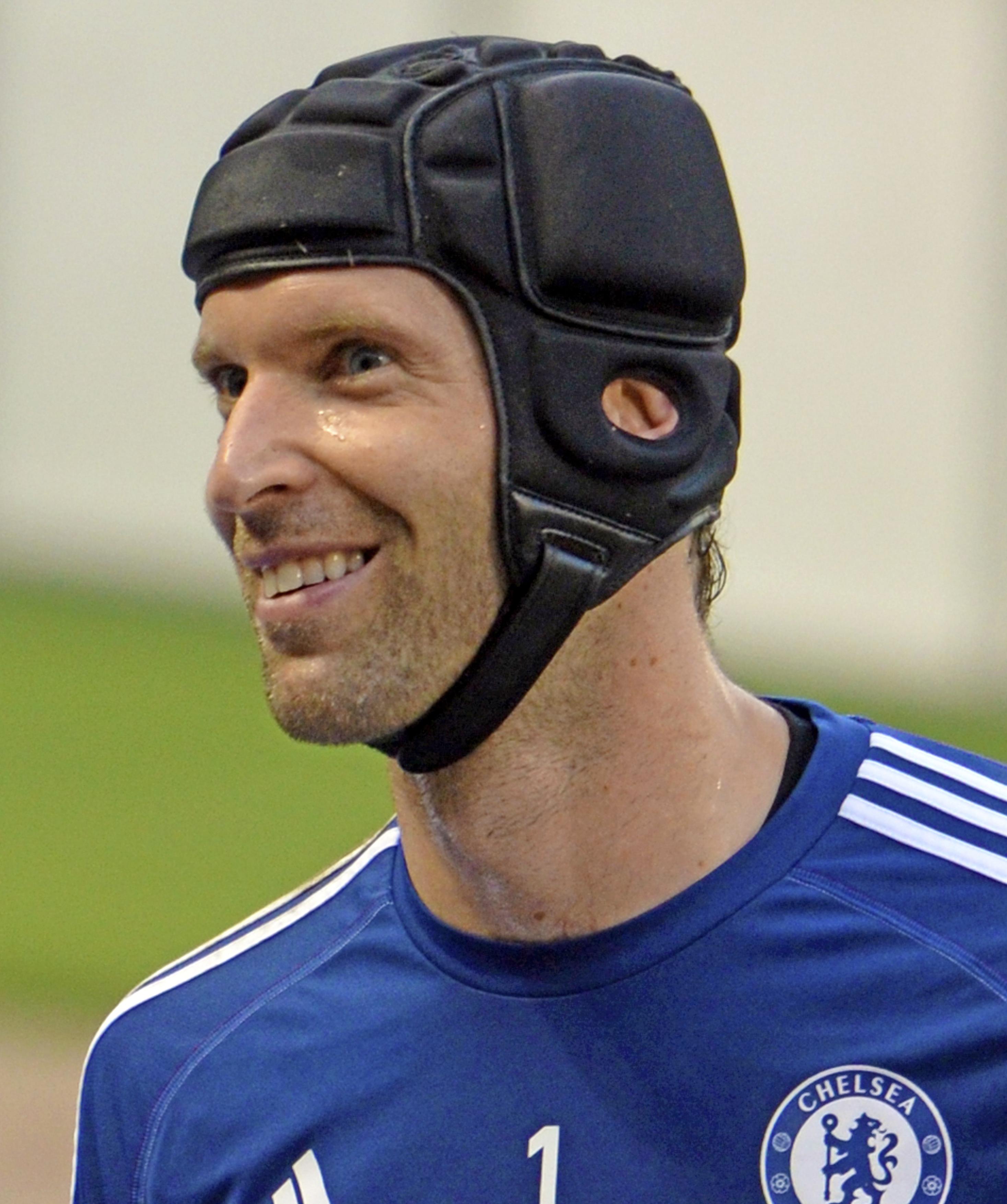 39-år gammel 196 cm høy Petr Cech i 2021