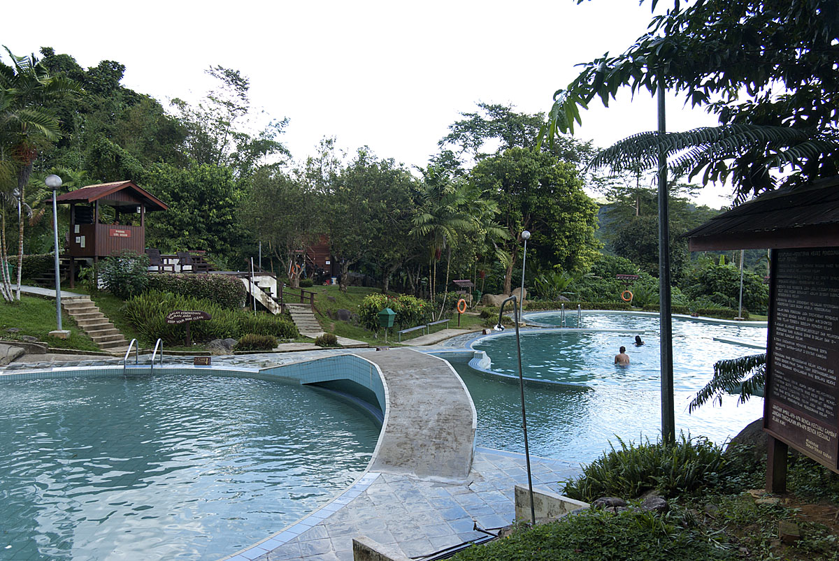Poring Hot Springs - top attractions in Sabah