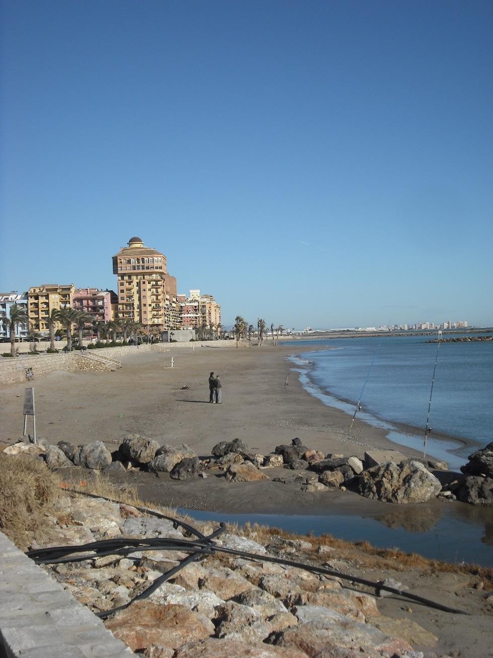 playa de port saplaya sur la enciclopedia libre
