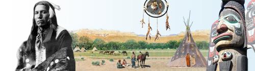 Bandeau illustratif du Portail:Amérindiens
