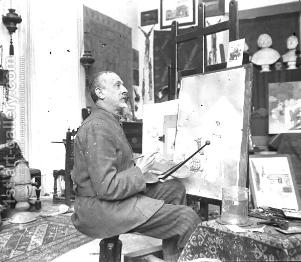 File:Portrait-Giulio Rosati -In-His-Studio.jpg