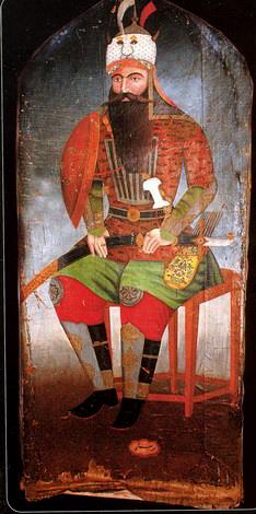 Portrait of Rustam Zal by Mirza Gadim Irevani.jpg
