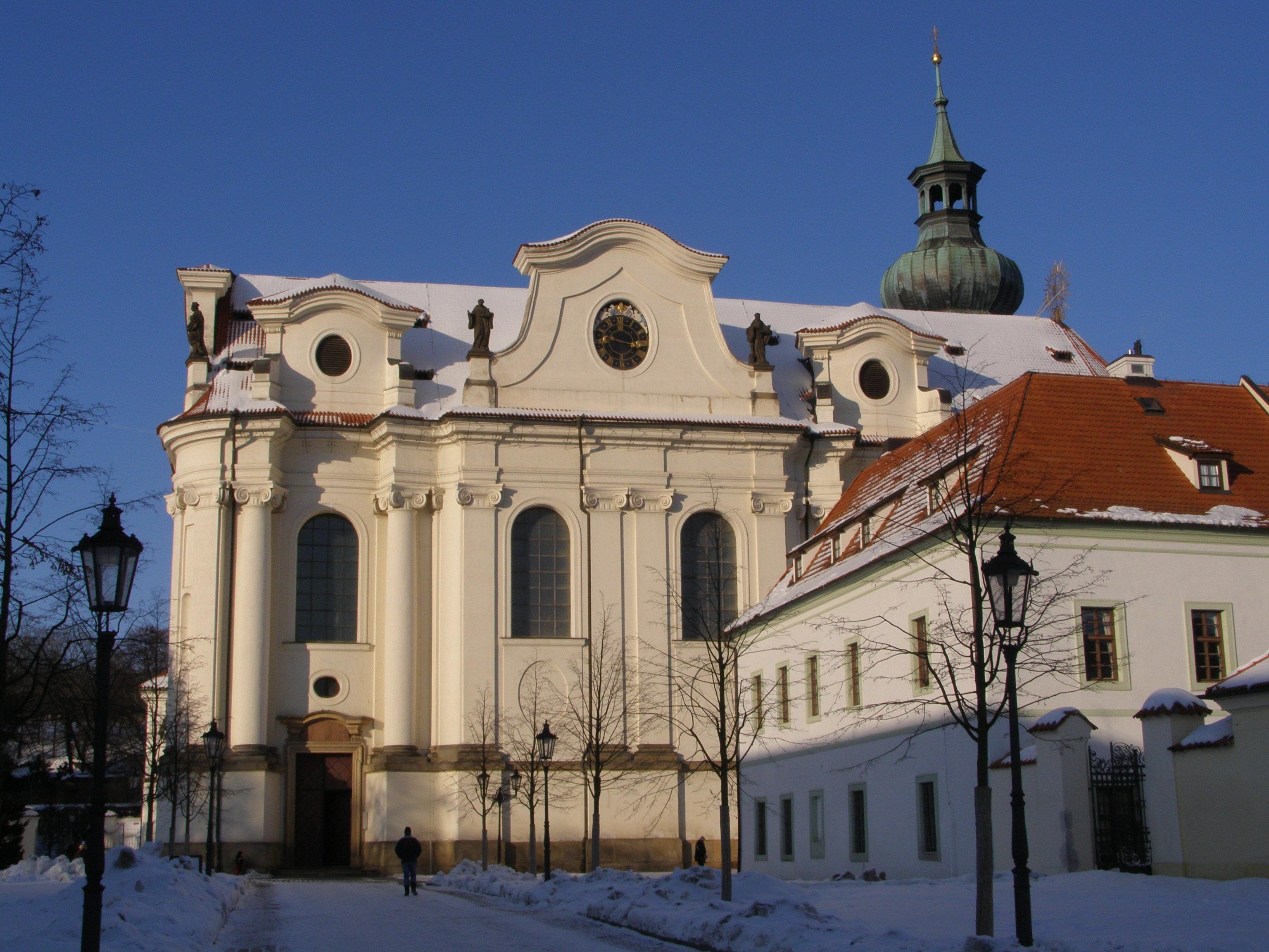 Klaster Praha File:praha Břevnovský Klášter
