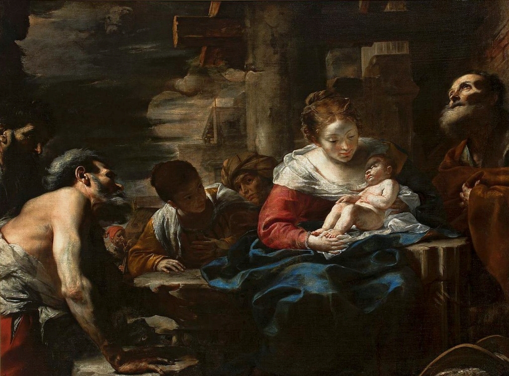 Preti Adoration of the Shepherds