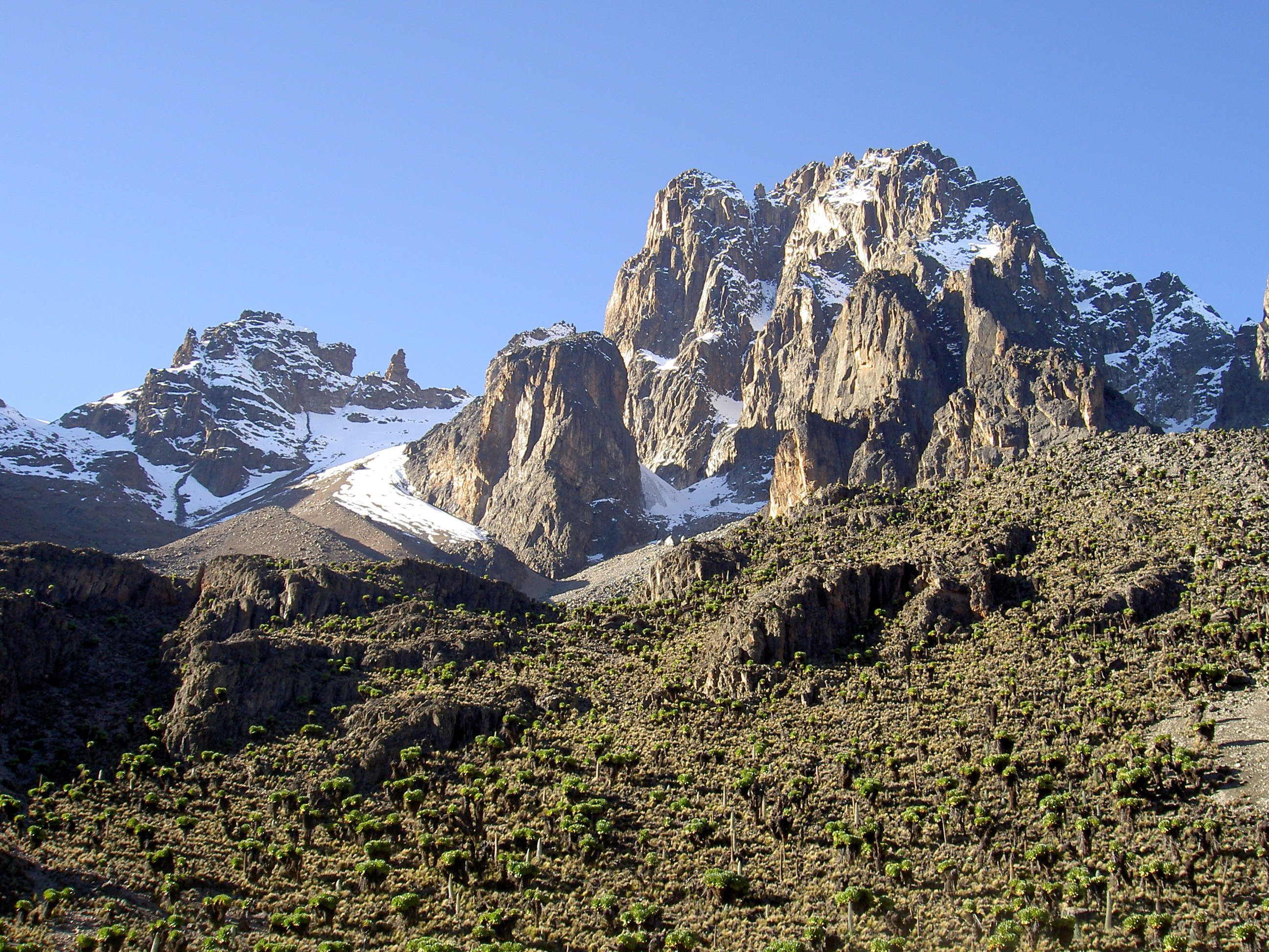 picture of mount kenya