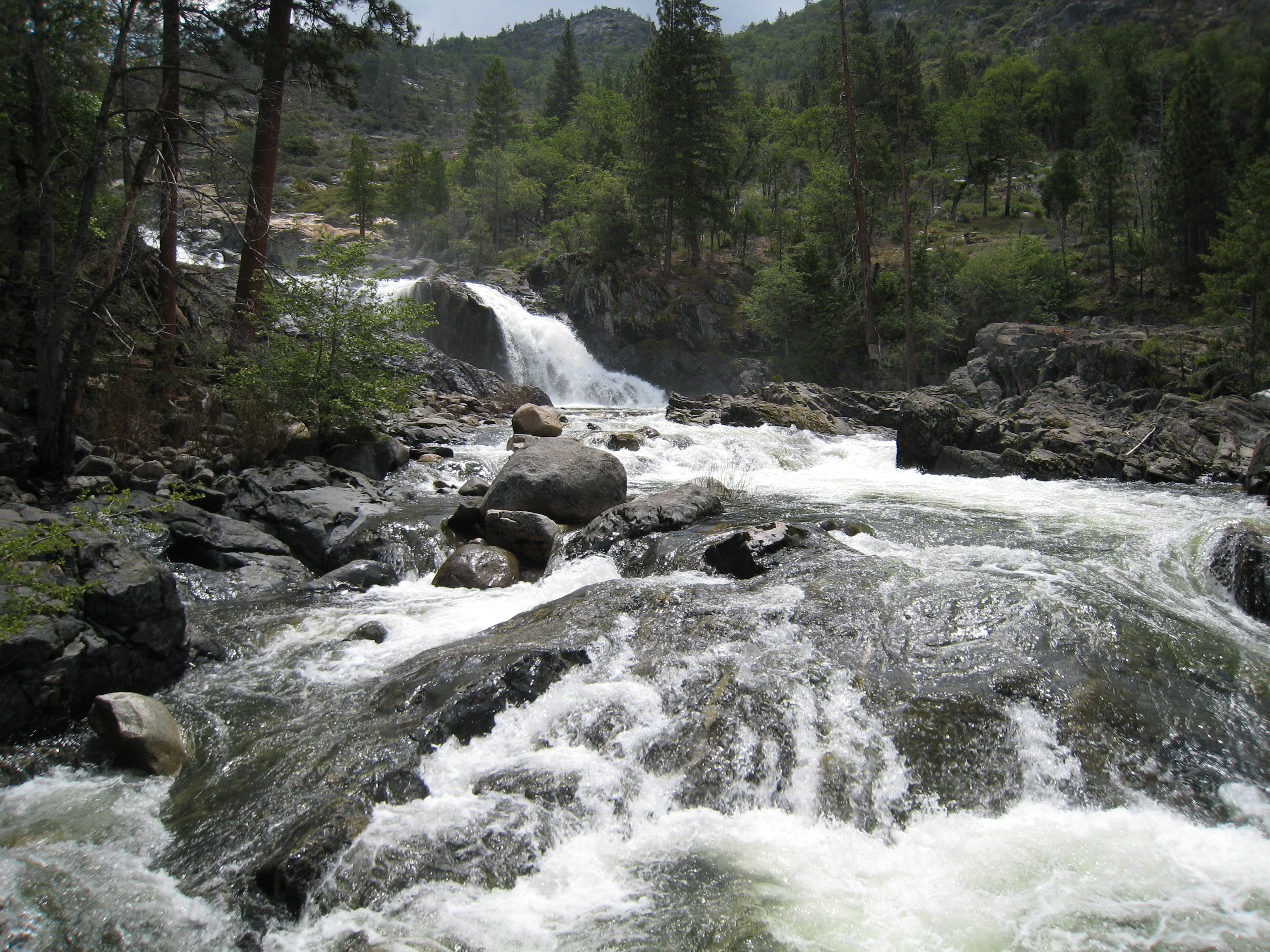 best Yosemite hikes - Rancheria Falls Trail