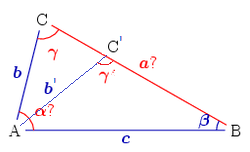 Solution of triangles - Wikipedia