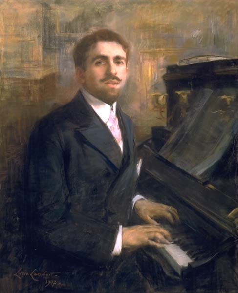 Reynaldo Hahn, par Lucie Lambert (1907)
