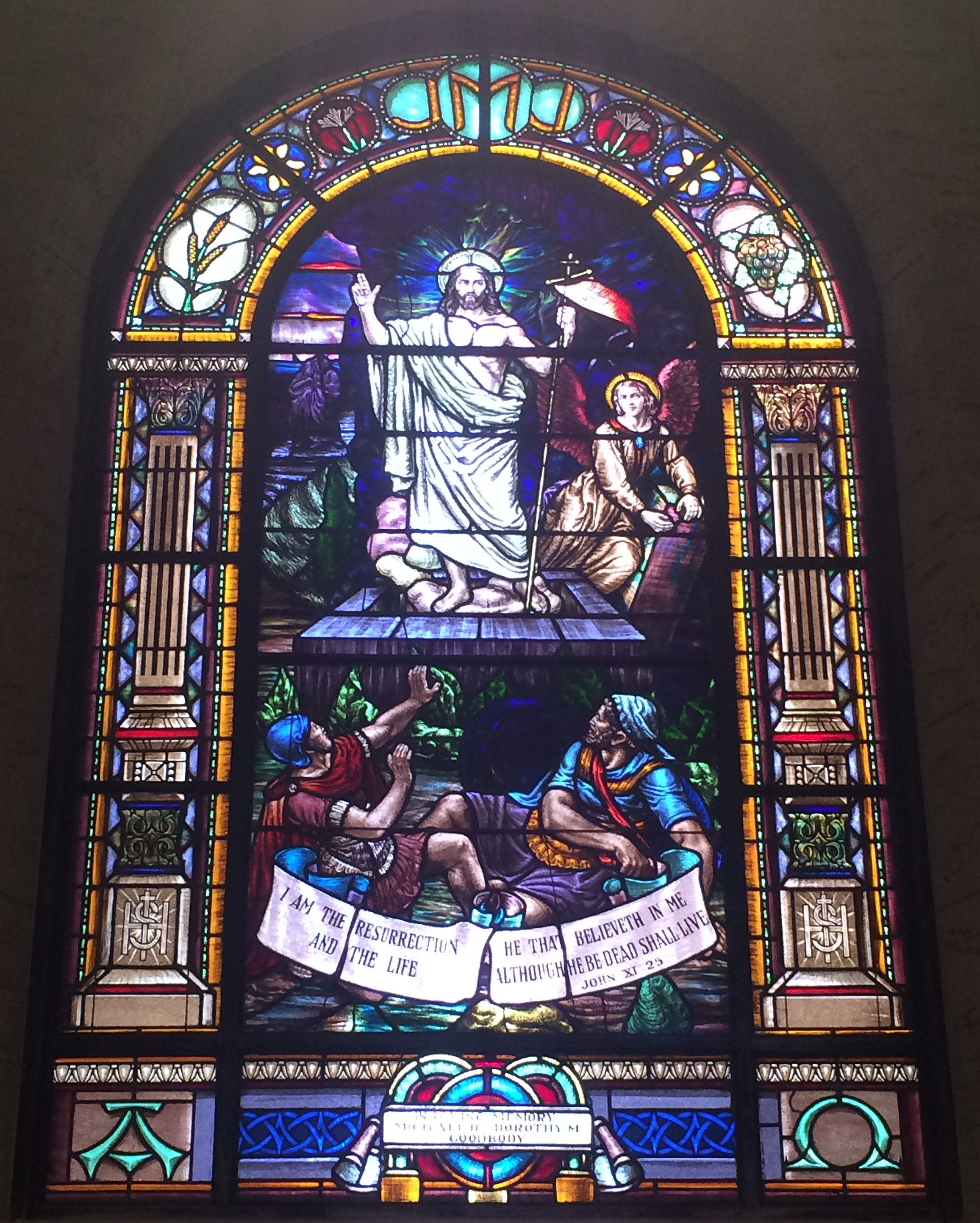 Stained Glass San Diego.File Saint Joseph Cathedral San Diego California