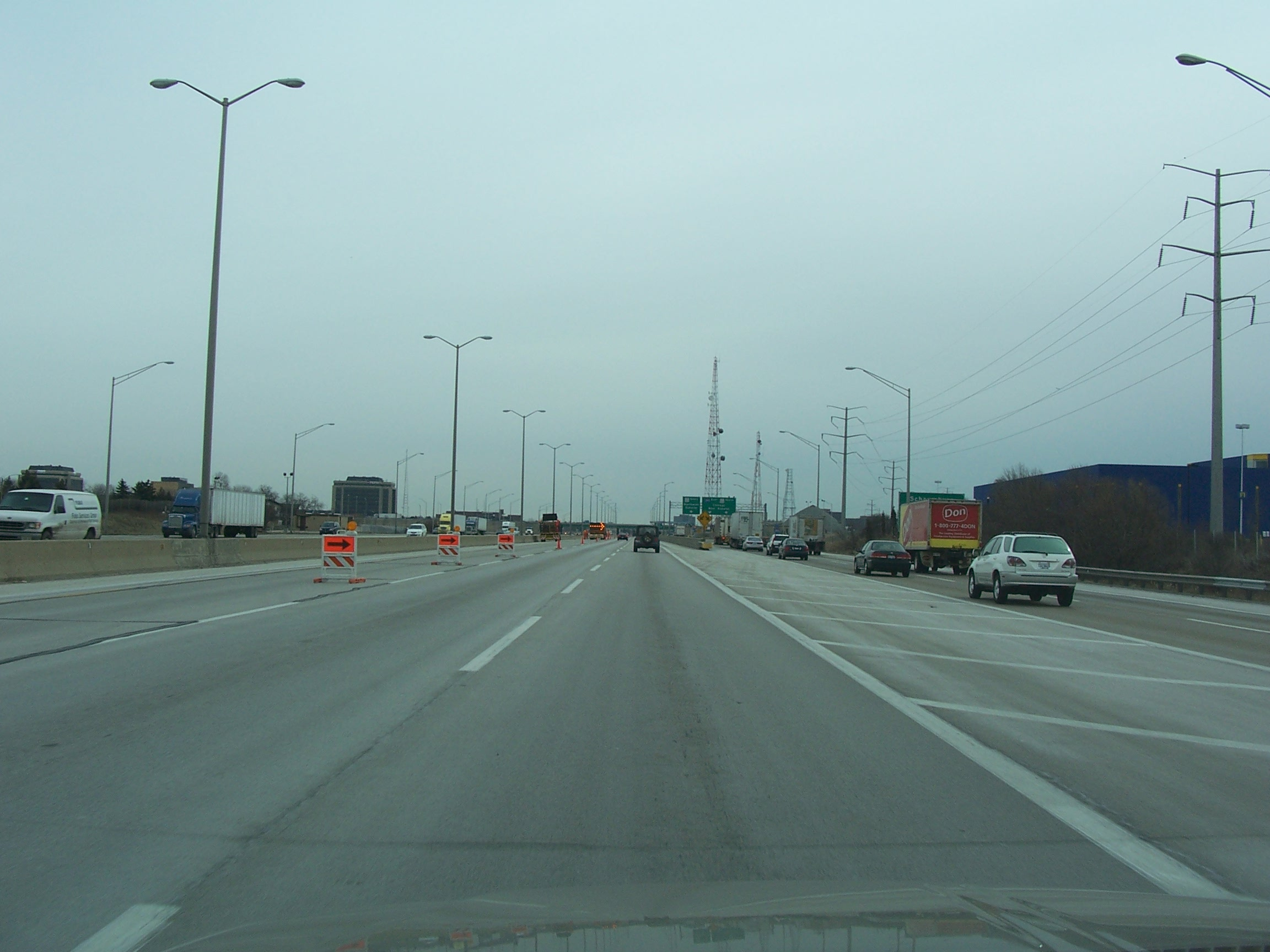 File:Schaumburg, Illinois - Northwest Tollway (I-90).jpg ...