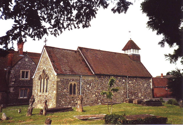 St. Andrew's old church, Bemerton, Wilts