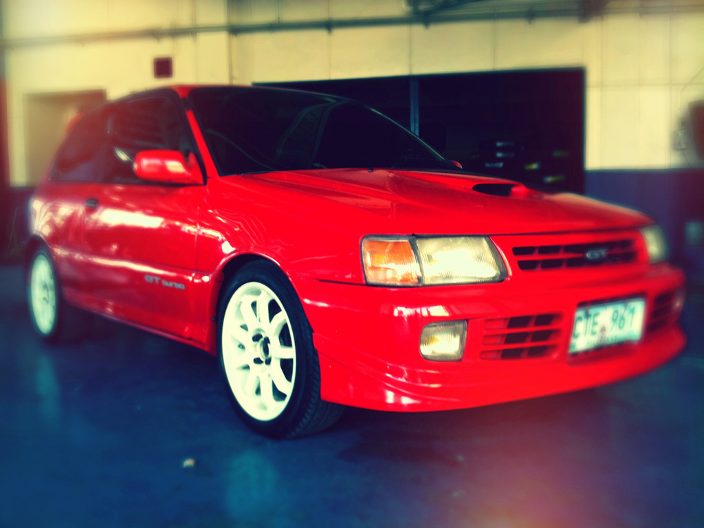 Starlet GT Turbo (EP82, Japanese Spec, Grey Exported To The Philippines)