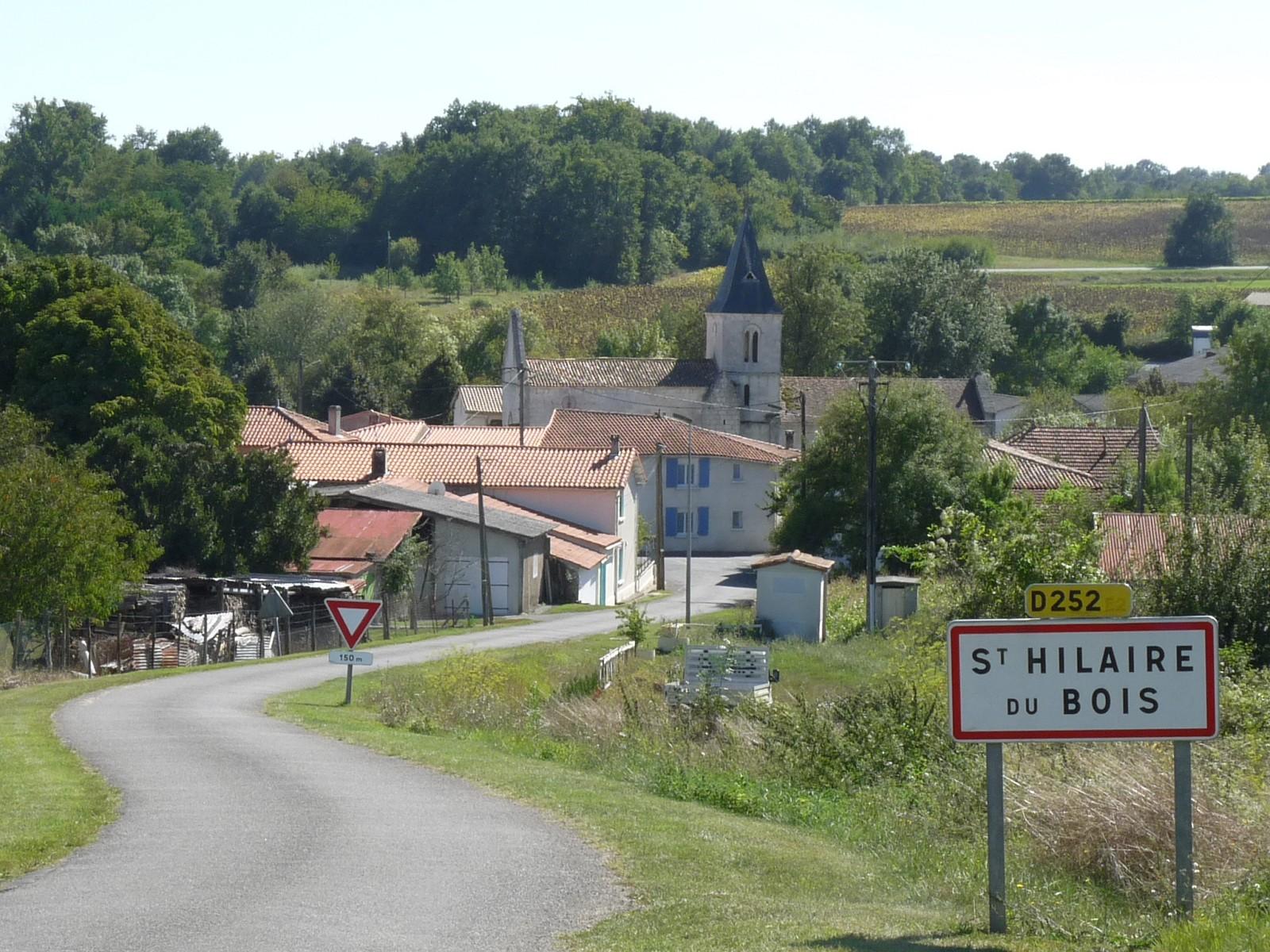 SaintHilaireduBois (CharenteMaritime) — Wikipédia ~ Code Postal De La Ville Du Bois