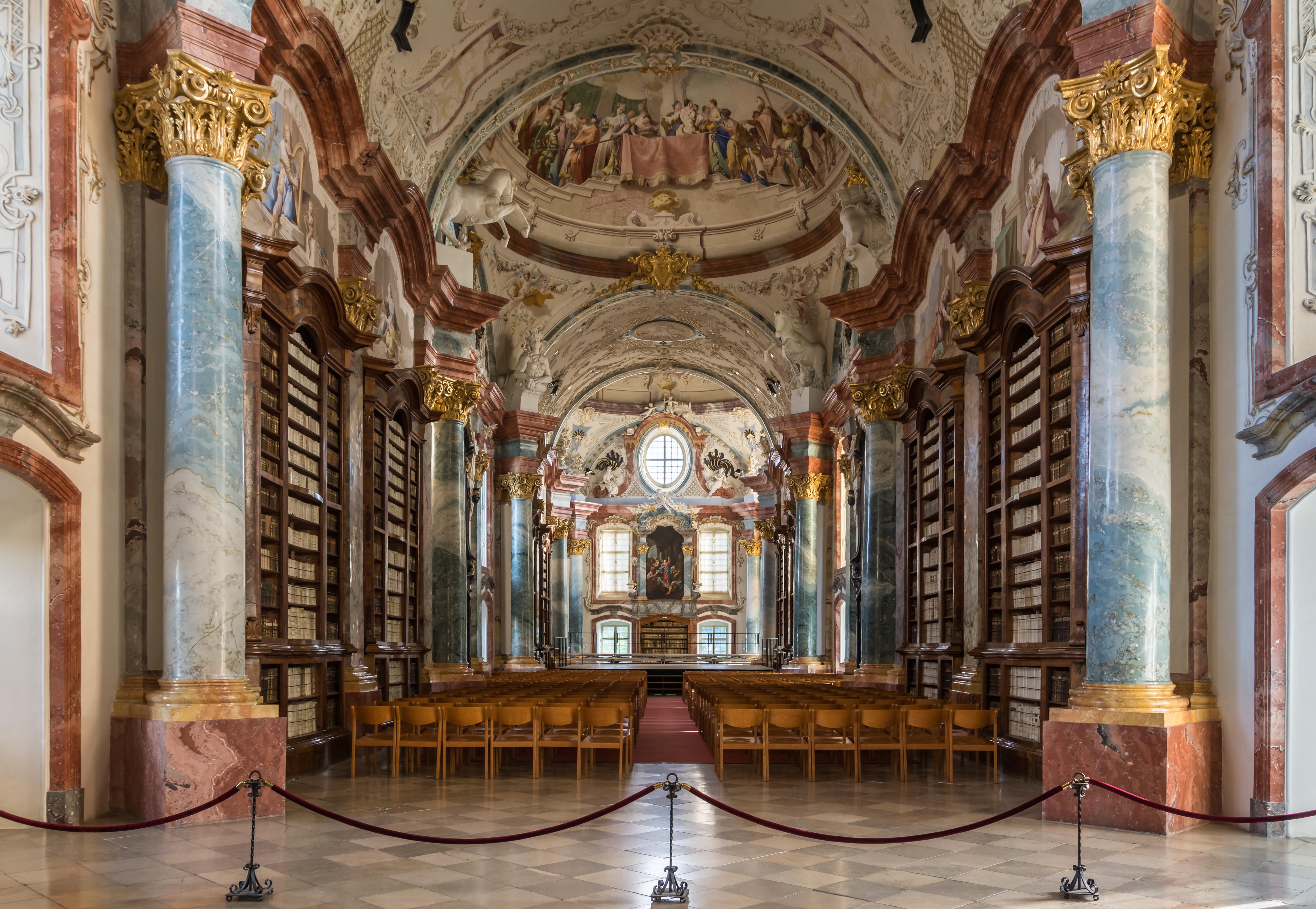 Stift Altenburg Bibliothek 03.JPG