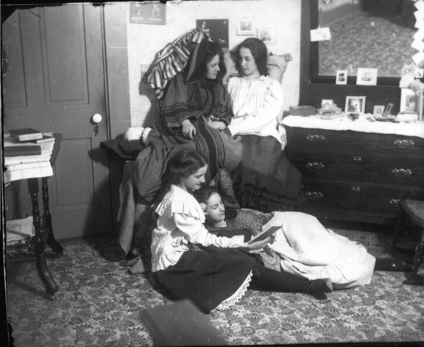 Studenti na Oxfordu ca. 1900