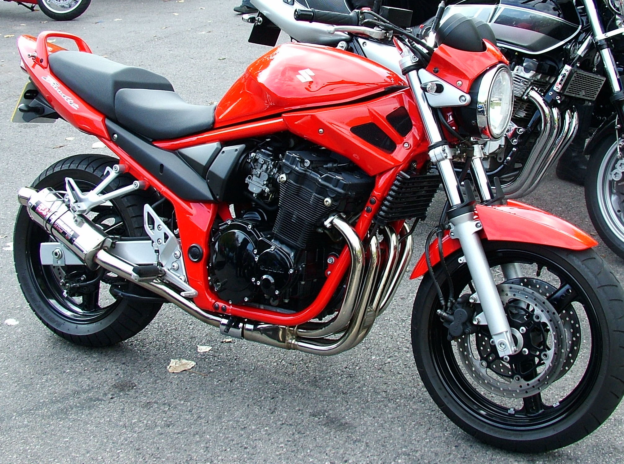 Suzuki Bandit Engine Size