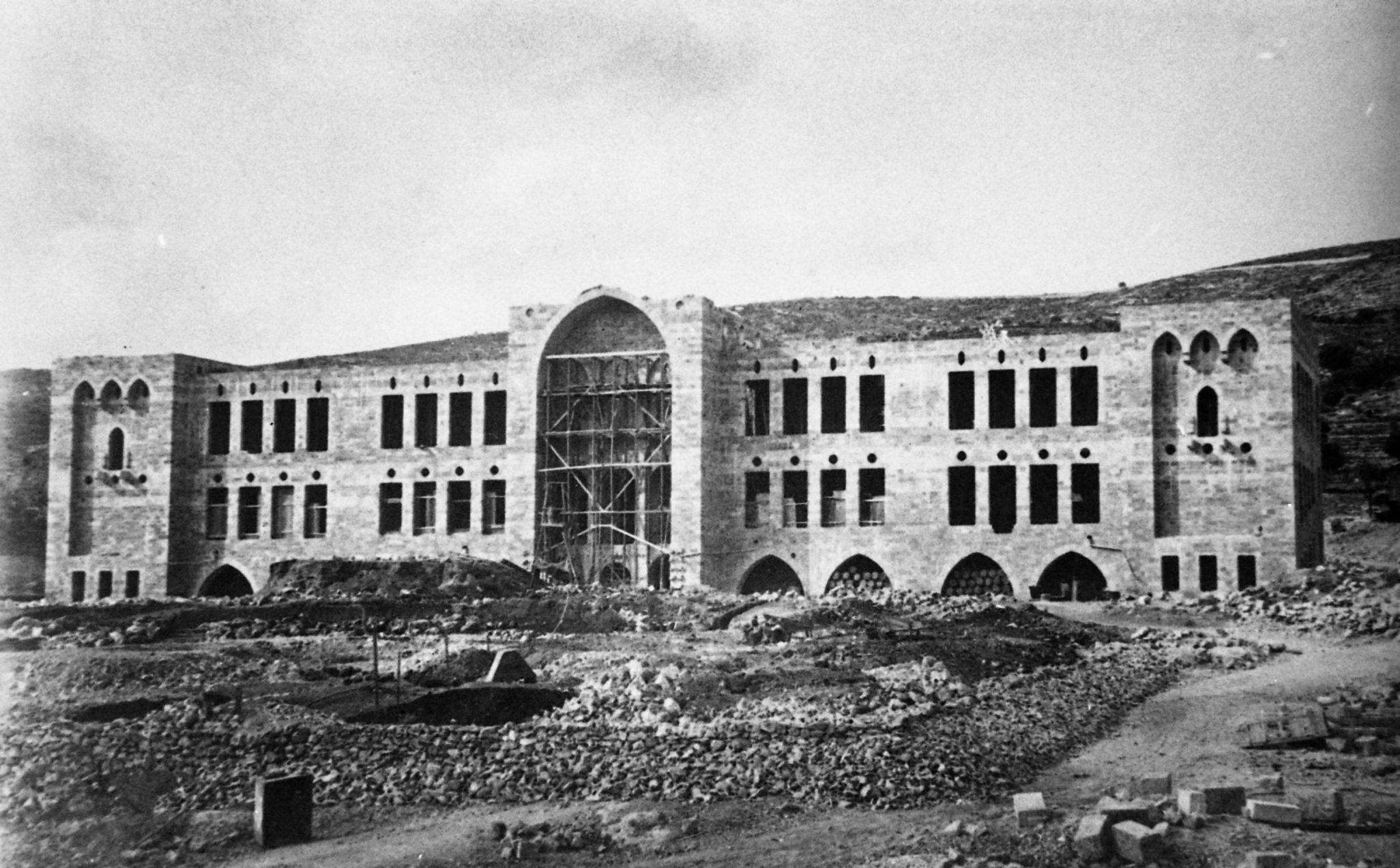 משכנו הראשון של הטכניון בחיפה - הפודקאסט עושים היסטוריה