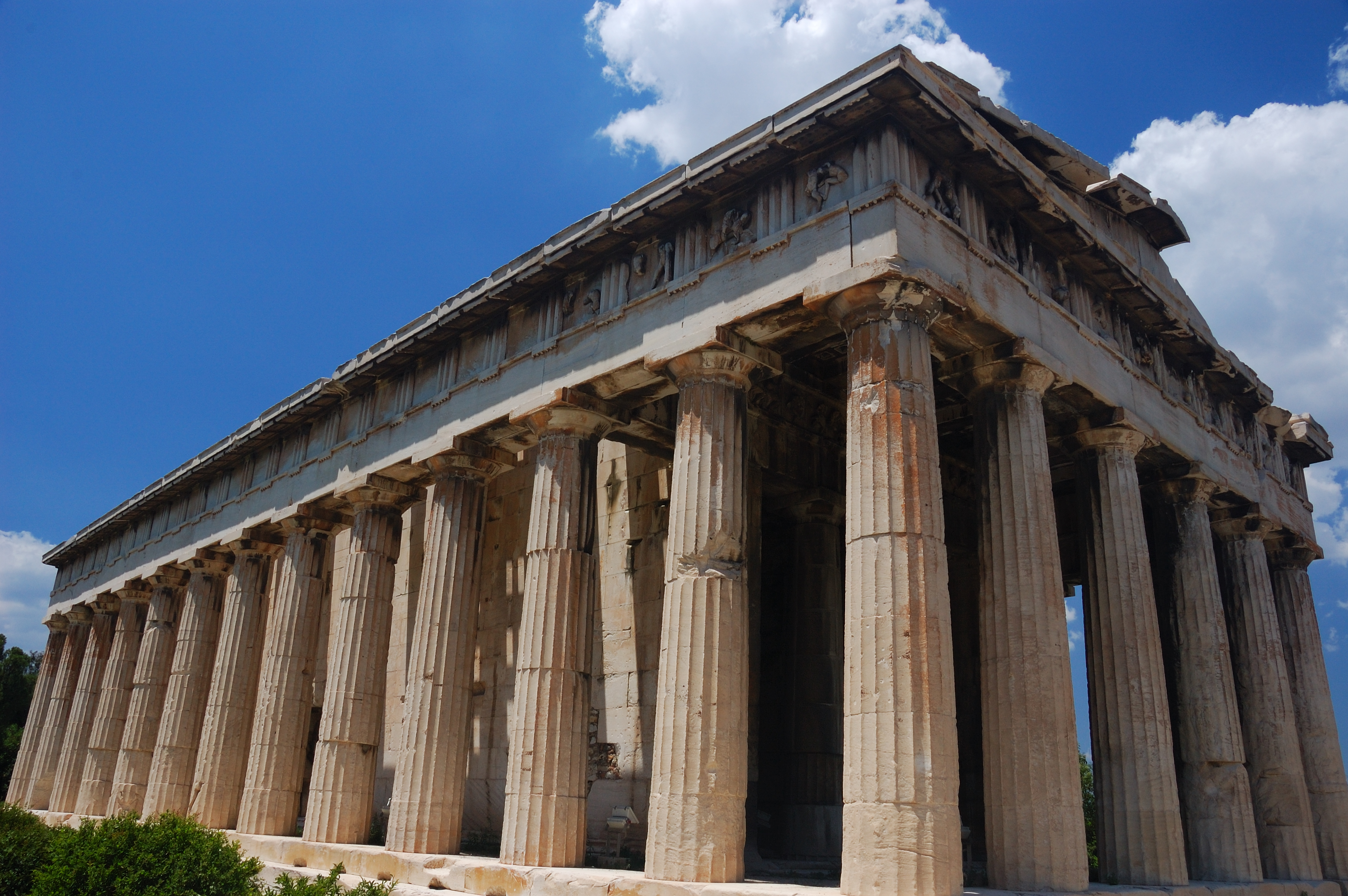 File:Temple of Hephaestus in Athens(1).jpg - Wikimedia Commons