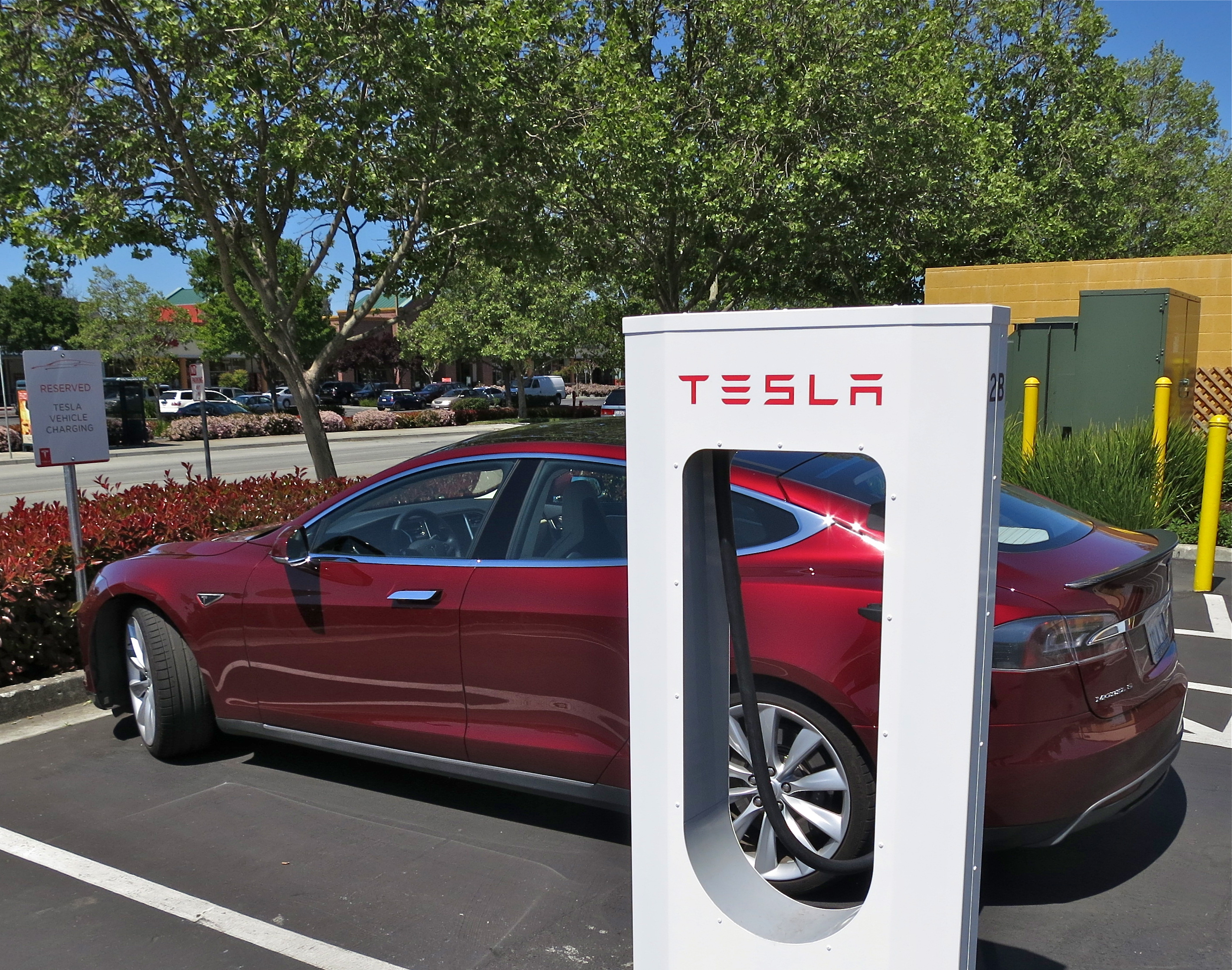 Image result for tesla supercharger