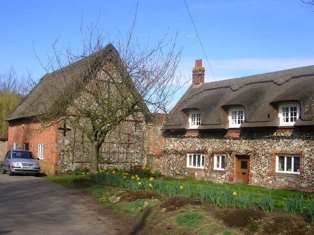 Thatched Cottages, Ranworth - geograph.org.uk - 155560