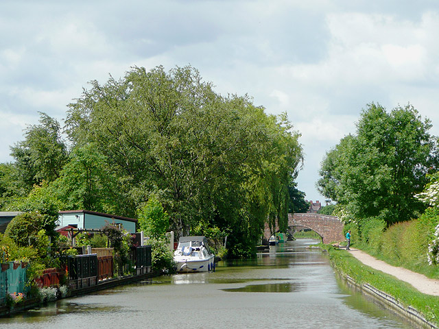 The Coventry Canal at Amington, Staffordshire - geograph.org.uk - 1157723