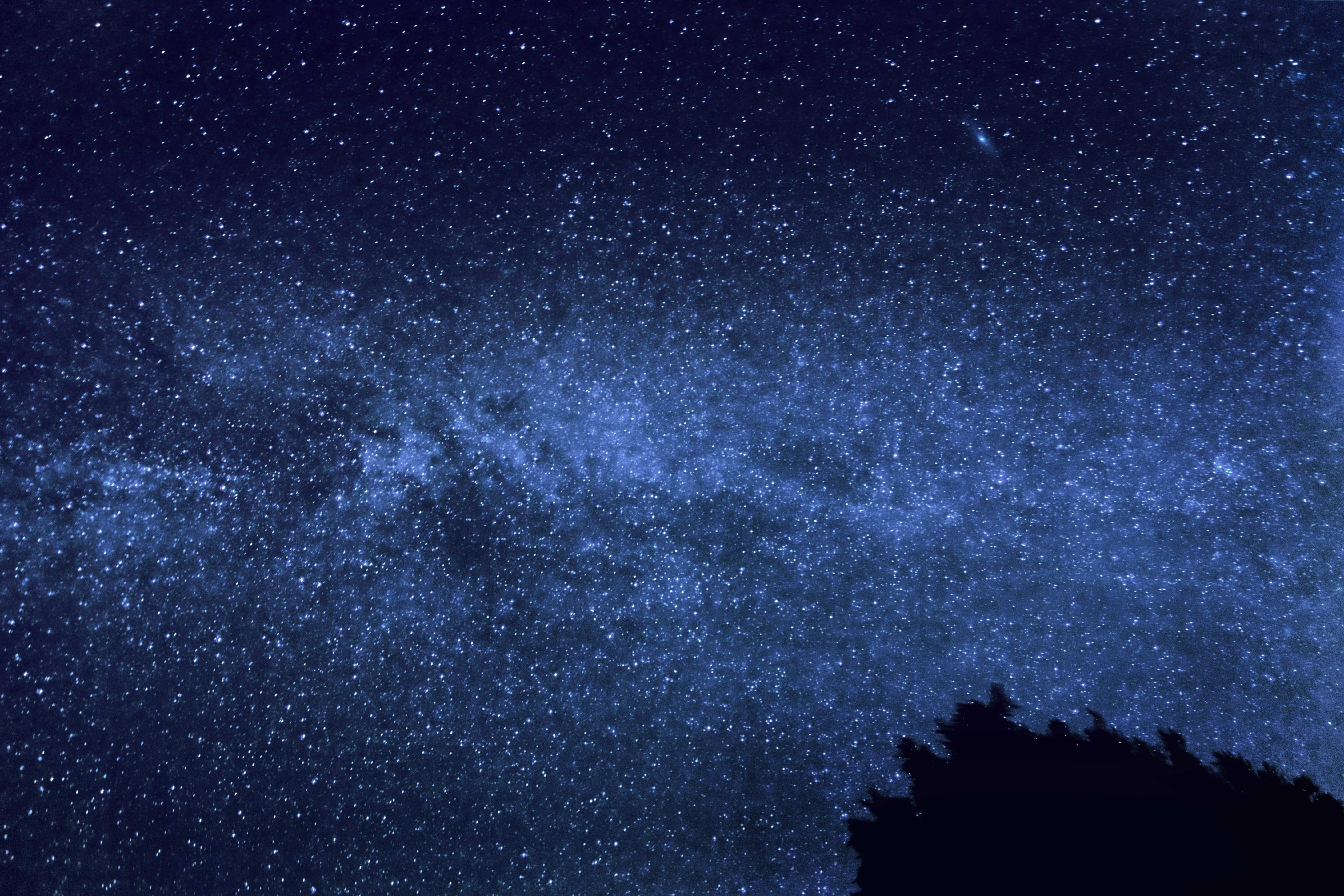 Andromeda galaxy and milky way pics about space for Night sky material