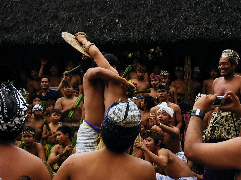 Perang Pandan di Tenganan Bali