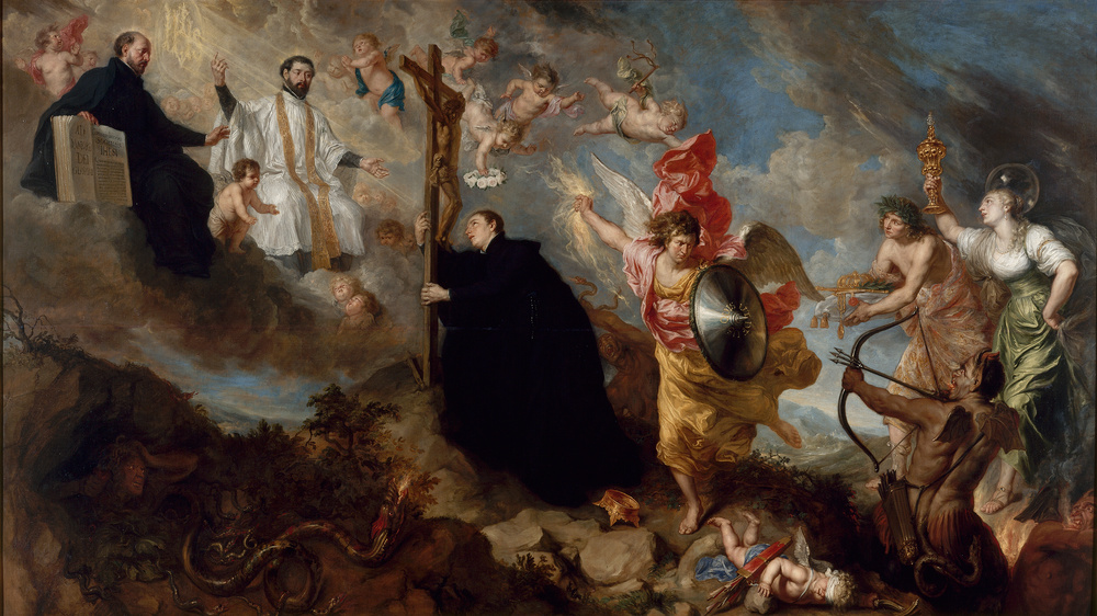 Theodor Boeyermans - The Vows of Saint Aloysius of Gonzaga