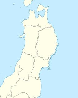 2011 Tōhoku earthquake and tsunami is located in Tohoku, Japan