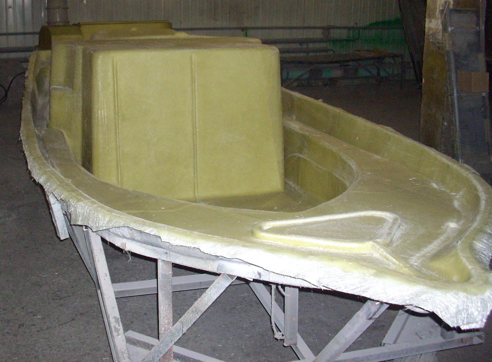 Ремонт стеклопластиковых лодок своими руками полиэфирными смолами
