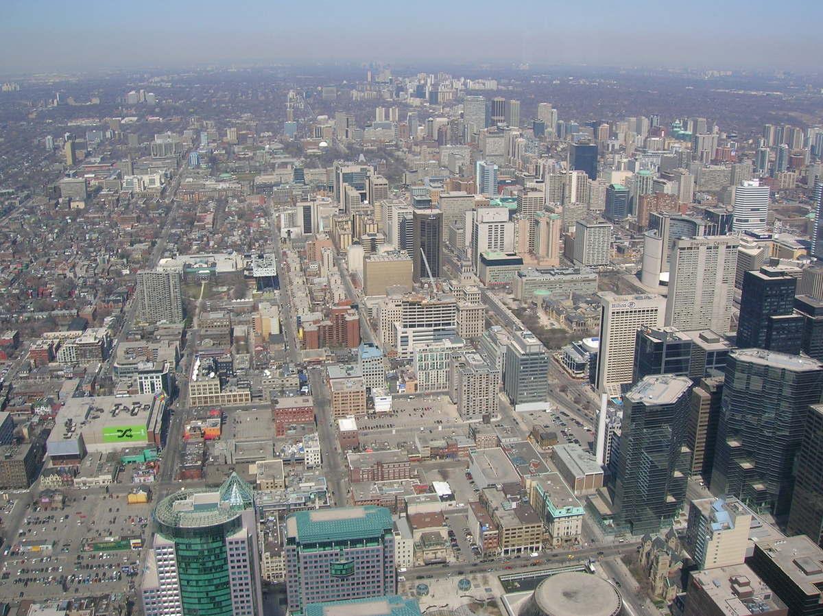 Description Toronto ur...