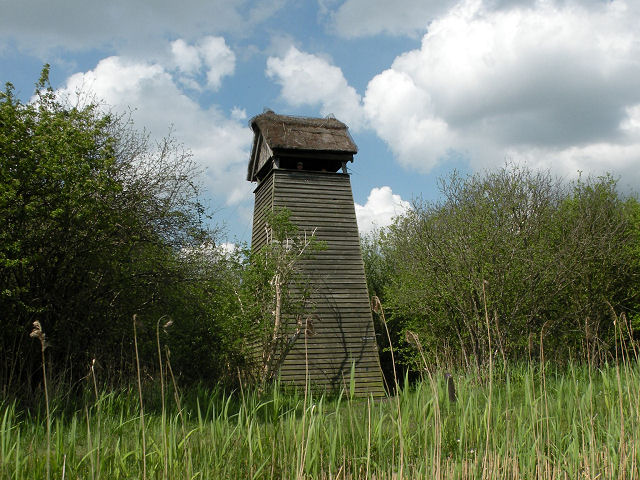Tower hide at Wicken Fen - geograph.org.uk - 1281269