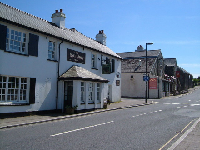 Two pubs in Princetown - geograph.org.uk - 183733