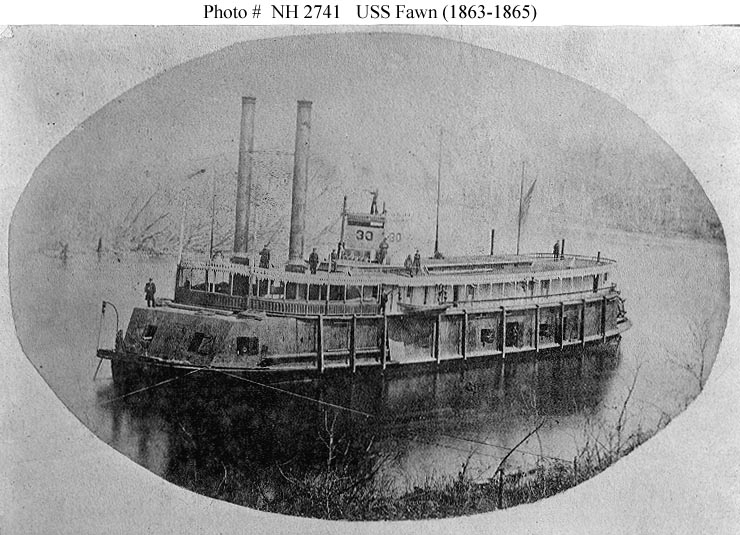 civil war battle coloring pages stones river | USS Fawn (1863) - Wikipedia