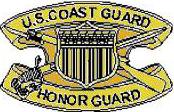 Coast Guard Honor Guard Badge