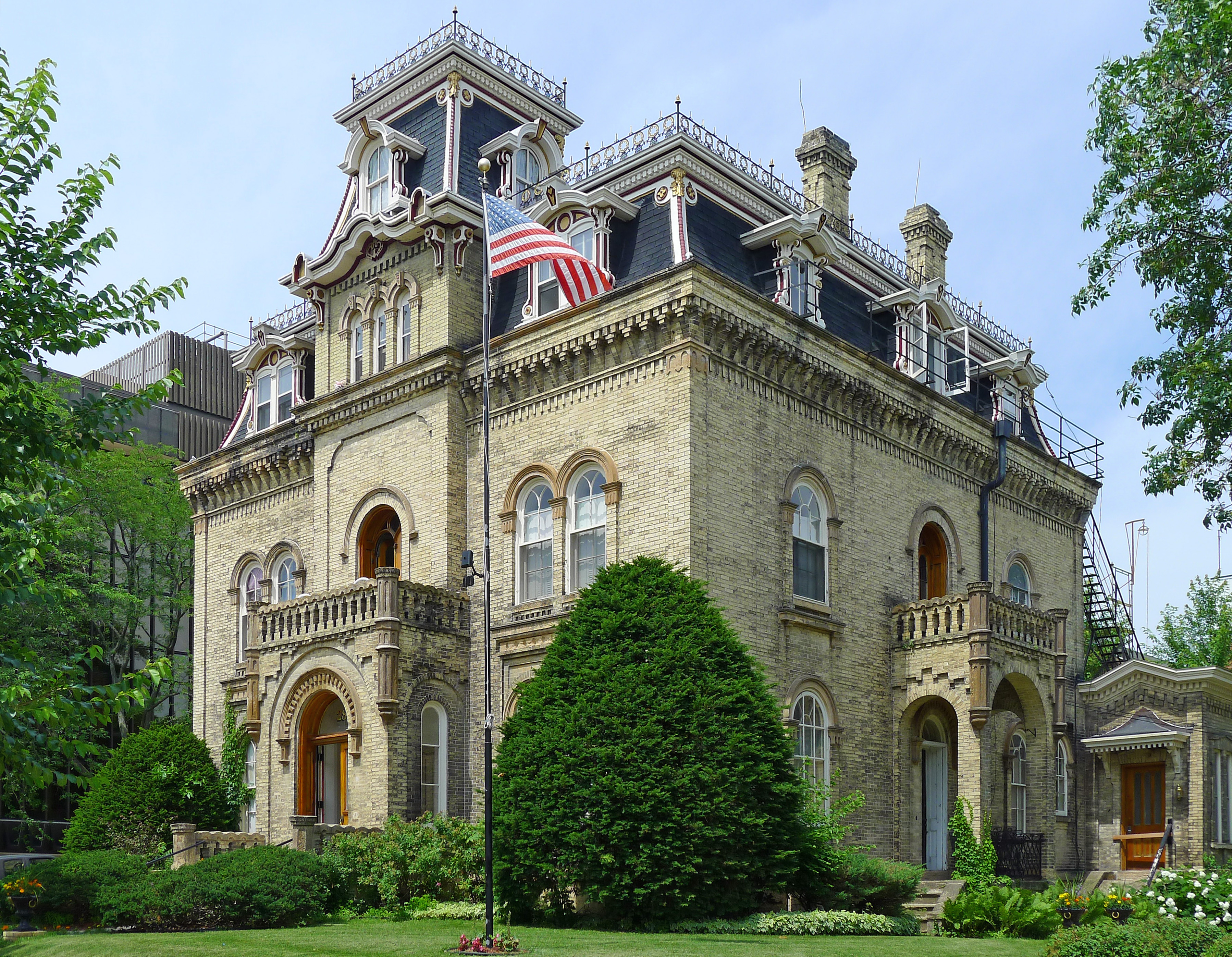File Van Slyke House Madison Wisconsin Jpg Wikimedia