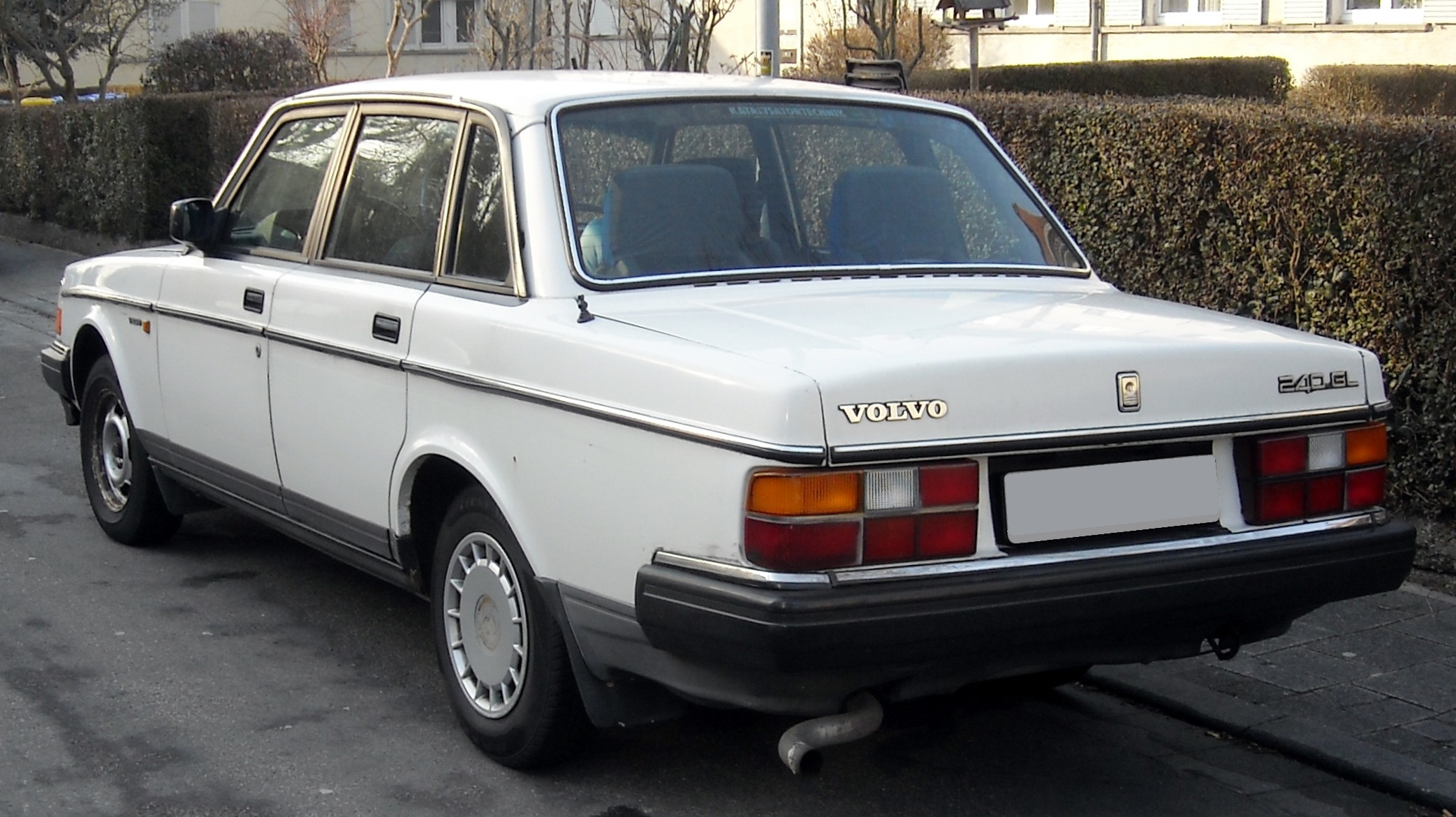 File Volvo 240gl Rear 20090203 Jpg Wikipedia