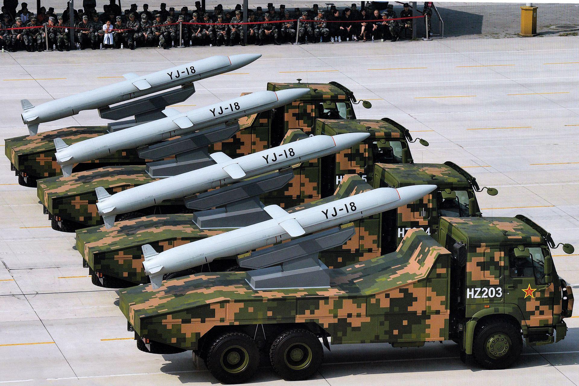 YJ-18 anti ship cruise missile