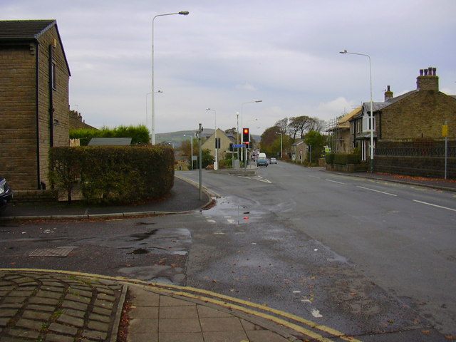 """Finger Post"" junction, Edenfield - geograph.org.uk - 1547898"