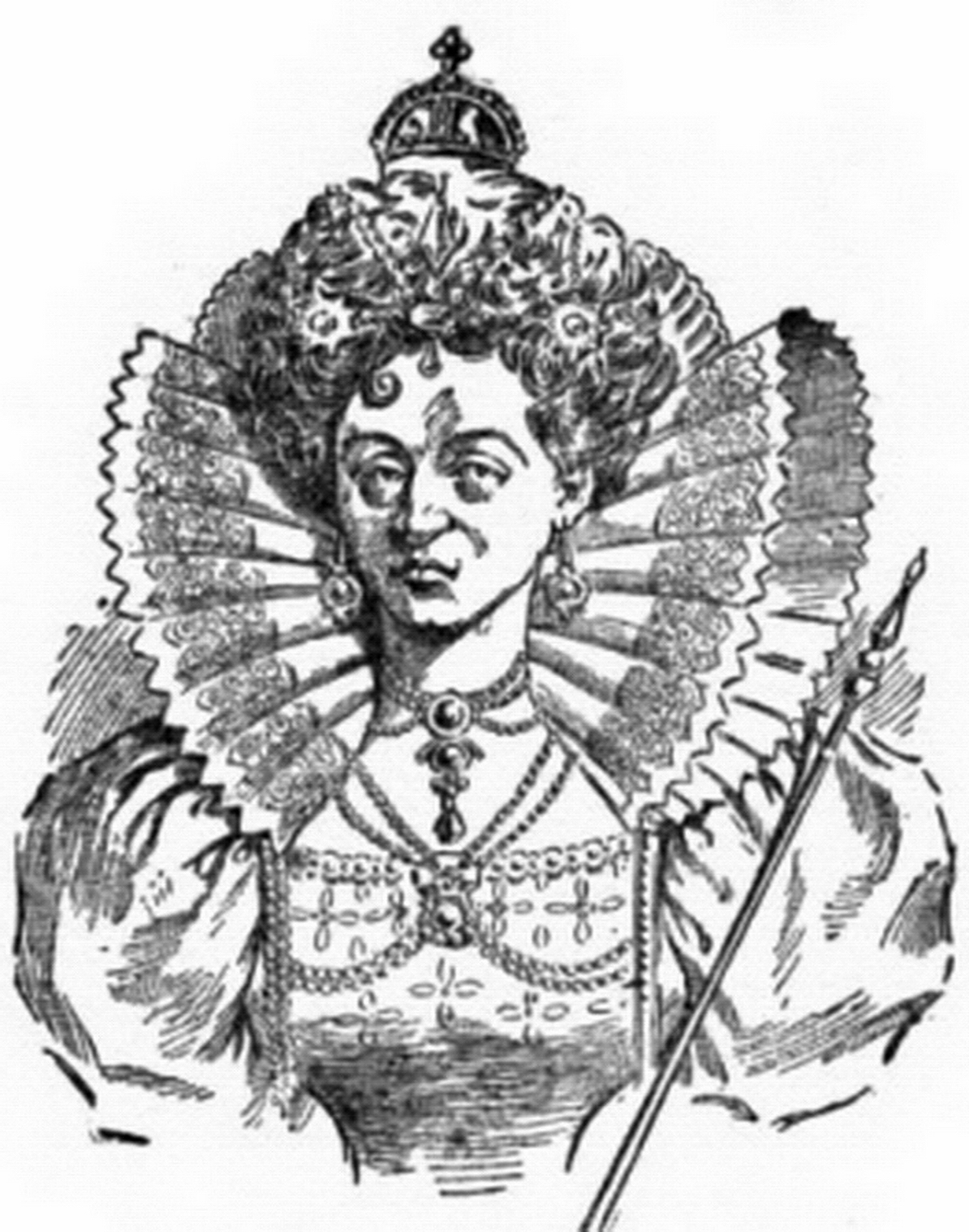 Line Drawing Queen : File a queen elizabeth  g wikimedia commons