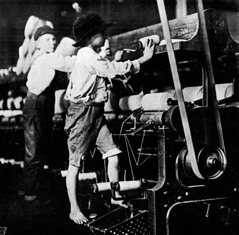 Child Labor in the Textile Mills
