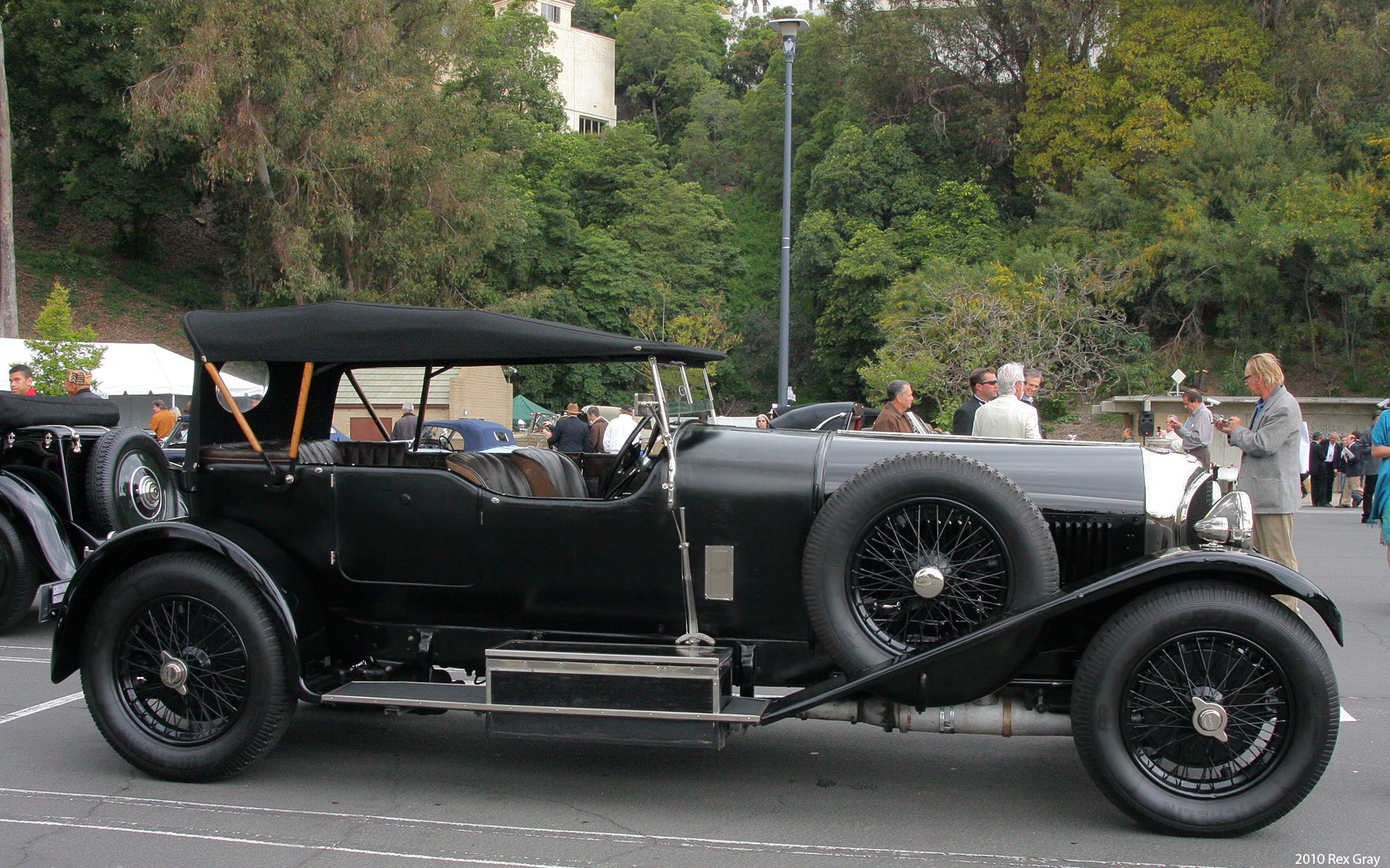 File 1928 Bentley 6 189 Litre Tourer Kd2111 Vandenplas Lhs
