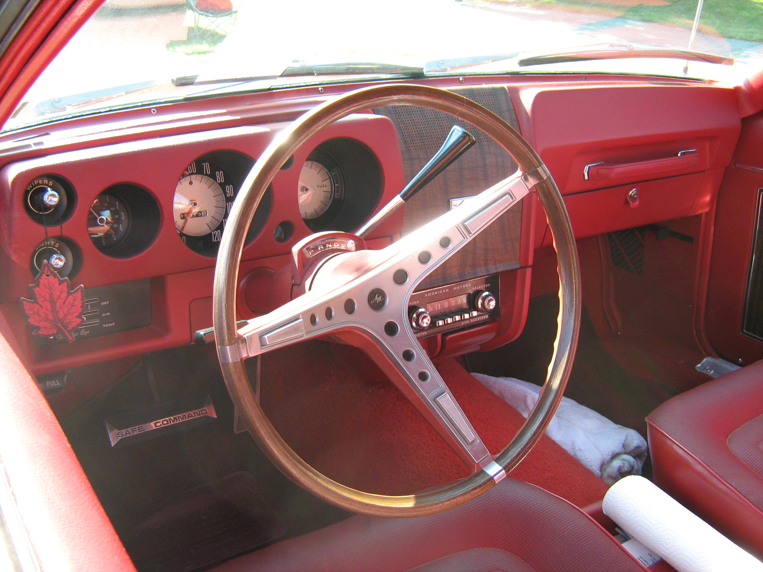 The Interior And Dashboard In This Car